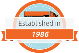 Trucking Company in Los Angeles Established in 1986